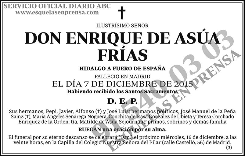 Enrique de Asua Frías